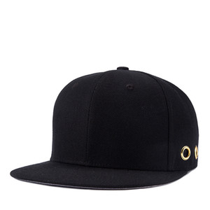 Unisex Fahsion 야구 모자 남자 여자 스냅 백 모자 힙합 조정 가능한 검은 모자 옥외 등산 야구 모자
