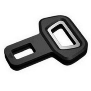1 Pcs lot Universal Metal Safety Car Seat Belt Buckles Clip Bottle Opener Vehicle-mounted Bottle Opener Dual-use Car Styling