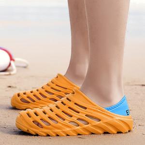 2020 Summer Sandals for Beach Sports Women Men's Slip-on Shoes Slippers Female Male Crocks Crocse Water Mules D046