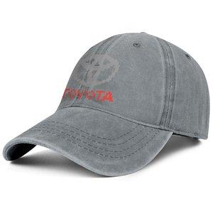 Elegante giapponese Toyota marchio dell'automobile Unisex Denim Baseball Cap fredda TRO cappelli personalizzati TOYOTA Racing Development LOGO Eat Sleep Toyota del fumetto