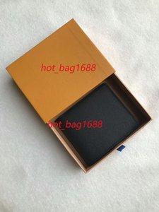 Original Holders Plaid Floral Short Leather Fold Wallet Grid Card Men Credit Man Fashion Outdoor Wallets Designer Com Oqggk