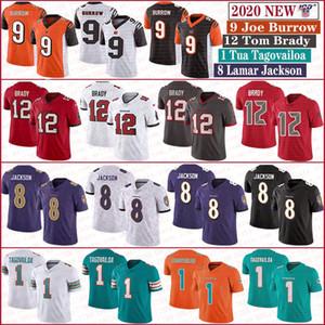 12 톰 브래디 해적마이애미돌고래 (1) 왼쪽으로 Tagovailoa 신시내티벵골 9 조 버로우 볼티모어까마귀 8 개 라마 잭슨 유니폼