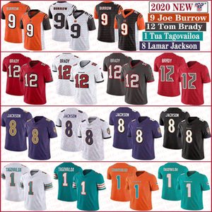 12 Tom Brady BuccaneerMiamiDolphin 1 Tua Tagovailoa CincinnatiBengale 9 Joe Burrow BaltimoreRaven 8 maillots Lamar Jackson