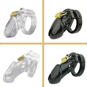 CB6000S / CB 6000 Gallo jaula de castidad masculino Dispositivo con 5 Medida de anillo del pene masculino Bloqueo Cinturón de castidad de juegos para adultos Sex Toys