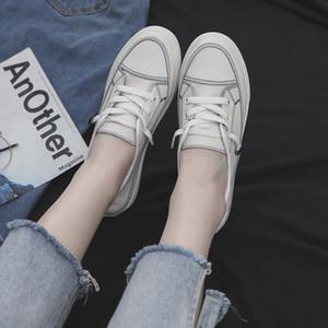 Hot Sale-Sommer koreanische asual Schuhe Frauen Normallack Art und Weise Schuhe der Frauen flache Ferse Loafers