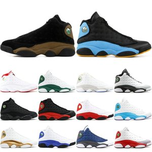 Nike Air Jordan Retro 13 13s Scarpe da pallacanestro uomo AAA Quality allevate Black Cat Ha gioco Chris Paul Away 2019 XIII Scarpe da ginnastica atletiche uomo 40-47