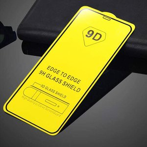 Full Cover 6D 9D Tempered Glass Screen Protector AB Glue for iPhone 11 2019 XRS XI XI Max XR XS XS MAX 6 6S PLUS 7 8 PLUS 200pc