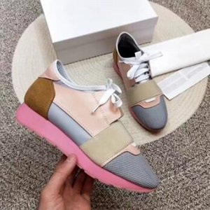 DESIGNER SHOES MENS CASUAL SHOES 2019 NEW BRAND CHEAP FASHION FLATS RUNNERS RACER SHOES WOMENS v4f