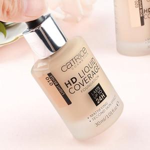 Spedizione gratuita!! Catrice Cosmetics HD Coverage Liquid Foundation Lastes Upto24 H 30ML / 1.01fl.oz trucco Foundation4 tipi Disponibile