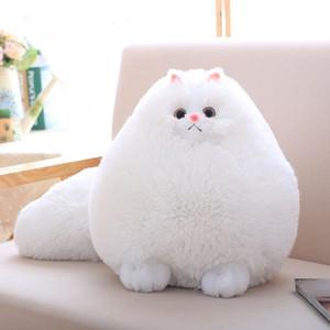 Lindo felpa mullidas gatos juguetes del gato persa almohada almohada suave peluche animal peluches muñecas bebé niños juguetes regalos de navidad