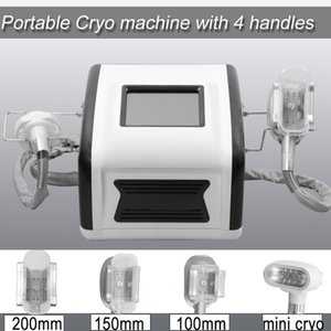 New Home-Use Fett Einfrieren Gewichtsverlust Körper Abnehmen Maschine Mini Cryo Fett Frost Körper Abnehmen Maschine Dhl-freies Verschiffen