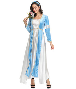 Adult Medieval Maiden Damen Outfit Kostüm Maid Marion Tudor Juliet Cosplay Outfit MS4201 MXL