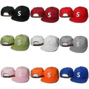 Mode Letter S Caps justierbare Hüte Designer Chance 3 Männer Frauen Snapback Marke Baseballmütze Super-Hip Hop Summer Sports Hut Online-Verkauf