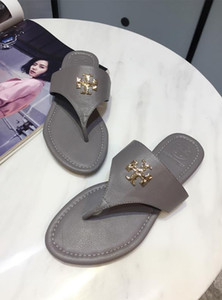 2020 donne Designersandals Fashion Luxury Beach diapositive Estate Brandsandals signore casuali Flip Flop stile classico 2021614Q