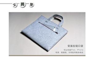 mantas de venta directa de fábrica de fieltro de diseño-ordenador portátil bolso de la cartera mantas calculador del paquete de mantas