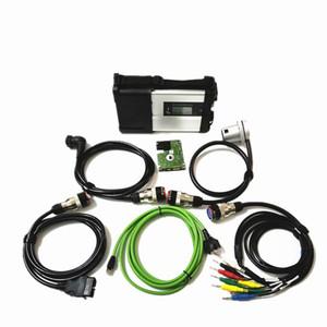 2019 Surper mb star c5 SD connect Herramienta de diagnóstico Multi-Langauge con software completo 2019.05 HDD o SSD MB SATR C5 para automóviles y camiones