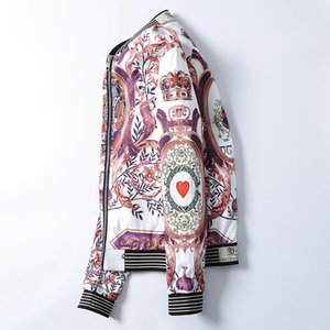 7788Fashion Designer Jacket Windbreaker Long Sleeve Mens Jackets Hoodie Clothing Zipper With Animal Letter Pattern Plus Size Clothes M-3XL