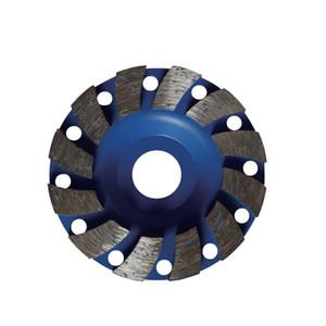 LIVTER toptan Elmas taşlama fincan tekerlek 100mm, beton, mermer, granit araçları için tekerlek diskleri araçları taşlama 20 / 16mm taşıyordu