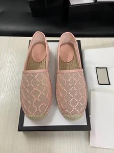 Kutusu ile Tasarımcı Sandalet Kadınlar Espadrille Kayış Yuvarlak Kama Topuk Topuklar Moda Gerçek Deri Balıkçı Gelinlik Parti Ayakkabıları
