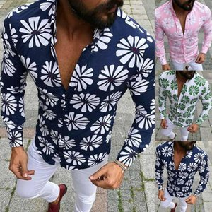 Sind Sie sicher, nicht zu klicken und sehen? Für Männer Herbst und Winter Hemden Freizeit toppen lose beiläufige Bluse Großhandel 2020