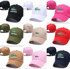 Крокодил Стиль Классический Спорт Бейсболки Высокое качество Сетка для гольфа Шапки Sun Hat для мужчин Женщины роскошные Snapback Cap Лучший папа Cap casquette