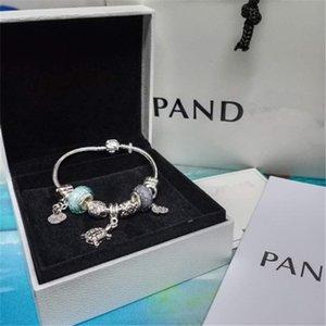 Art und Weise Charmearmband 925 Silber Pandora Diy Zubehör weibliche Baum des Lebens Anhänger Armband Charme Pandora Liebe Perlen Geschenk Armband