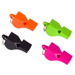 Classic Whistle Football Basketball Hockey Baseball Sports Referee Whistle Seedless Survival Whistle various color plastic sport