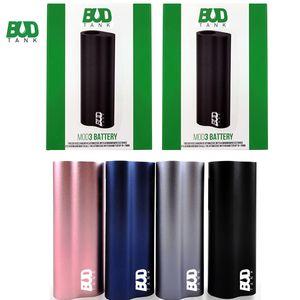 Authentic Budtank MOD3 bateria Plam Mod Box 390mAh Vape Mods 510 Tópico Battery Auto Desenhe Vape Pen E Cig Baterias E cigaretes Mods