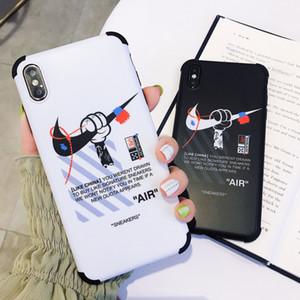 3D Suitcase caixa do telefone capa para o iPhone 8 7 6 6s Além dos doces Cor Silicone tampa de protecção anti-queda para iPhone XS MAX XR X