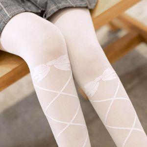 Women Lace-up Socks Lolita Japan Student Female Thin Ventilation Long Leg Socks Sunscreen Summer Fashion Korean Young Girl