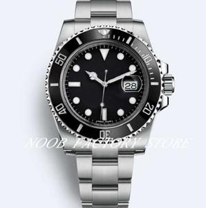 Super-Luxus-N-Fabrik 8 Stil Elementary Version anschauen 116610 116613 114060 Keramik-Lünette 2813 Automatik-Uhrwerk Tauchen-Uhr Herren-Uhren