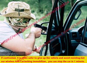 alarma de coche sin sistema de alarma falsa molesto inalámbrica original de relevo unidireccional del inmovilizador del inmovilizador de ignición del coche antirrobo