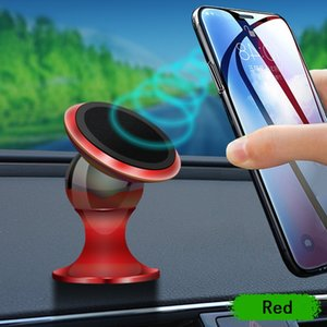 Magnetic car holder 360 Degree Magnetic Alloy Phone Holder Stand Bracket For Samsung htc android phone gps pc