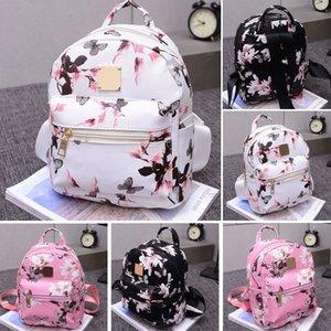 Mode Frauen Rucksack Hochwertige Jugend Blumendruck Rucksäcke für Mädchen Im Teenageralter Weibliche Schule Umhängetasche Bagpack mochila