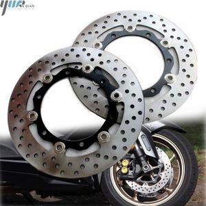 Мотоцикл Передний Задний тормозной диск ротора Stainles сталь, пригодный для TMAX530 XP530 T MAX TMAX TMAX 530 XP 530 2012 2013 2014