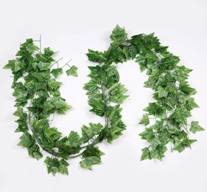 Nuovo design modellato Ivy Foglie una varietà di artificiale Vite foglia d'acero foglia Hitom per le decorazioni di casa matrimonio giardino