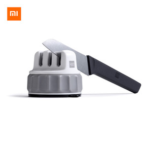 Xiaomi Mijia Huohou Mini Knife Sharpener One-handed Sharpening Super Suction Kitchen Sharpener ABS Material Tool For Smart Home