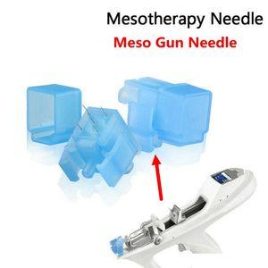 Mezoterapi İğne Meso Gun İğne Kırışıklık Kaldırma Cilt Bakımı 5 iğneler 9 İğneler nano Meso Enjektör Kullanım İçin Bella Vital Makinesi DHL