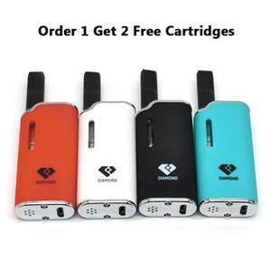 Originale Airis Diamante Kit E Kit Cigarette Vape Mod 280mAh Batteria Auto Con CE3 cartucce misura i vari Batteria Vape cartucce Keyless