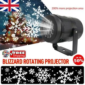 Detalhes sobre LED Neve Movendo Laser projector de luz do floco de neve ao ar livre Lâmpada Luzes de Natal
