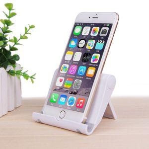 2019 novas chegadas acessórios de plástico móvel dobrável suporte de mesa universal suporte de mesa de telefone celular suporte do telefone do berço