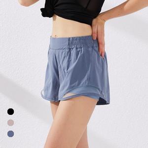 lu une salle de sport short sport lâche sec rapide de poche short yoga qualité 2020 robes d'été nouveau style avec le logo de la marque