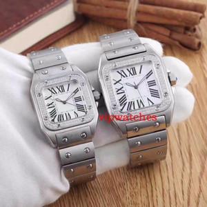 Relojes de lujo para hombre Relojes de pulsera de cuarzo Acero inoxidable Oro rosa Diseñador de DIAMOND para hombres Relojes de moda Relojes de pulsera