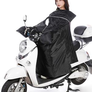 Scooter tampa do pé para a motocicleta Blanket Knee Warmer Chuva Vento Windproof proteção impermeável inverno Quilt Para