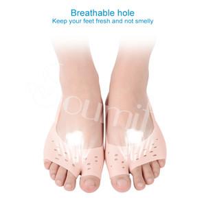 Soumit Silikon jel Nefes Nemlendirici Çorap PLANTILLAS Tabanlık önlemek Bunion Plantar Fasiit mısır nasır Ayakkabı Tabanı