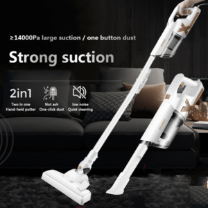 6 pcs Household Portable Carpet Vacuum Cleaner Handheld Cyclone Electric Mop Large Suction Dust Removal Sweeping Sweeper Rechargeable