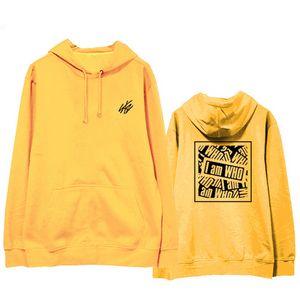 Moda Straykids sudadera con capucha soy la sudadera Sweatershirt Hip Hop Street Wear Kpop Stray Kids invierno abrigo con capucha