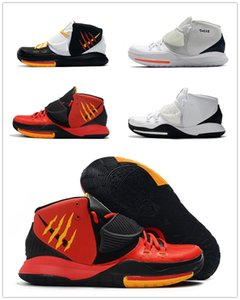 K6 Oreo There Is No Coming Back Hommes chaussures de basket-ball de bonne qualité Bruce Lee Red Noir Mens Designer Sport Sneaker avec la boîte
