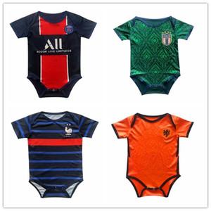 20 21 football soccer jersey 2020 2021 kids baby infant boy designer clothes diaper bags diaper bag  strollers new born Japan Argentina Netherlands Spain Brazil Liverpool Arsenal