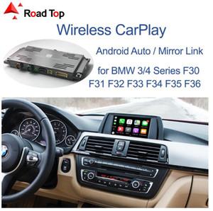 CarPlay sem fio Interface para BMW 3 4 Series F30 F31 F32 F33 F34 F35 F36 2011-2016, com espelho Android Fazer a ligação AirPlay carro do jogo